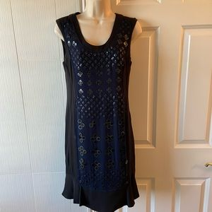 NWT DVF Elise Ditsy Sequin Dress